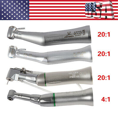 Orthodontic Dental 4:1 20:1 Endo Implant Contra Angle Handpiece Low Speed F/ NSK