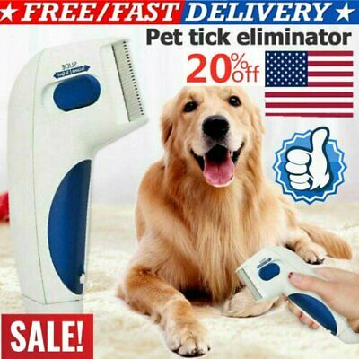 USA Doctor Electric Dog Anti Fleas Comb Head Lice Remover Pets Flea 2019 New! JB