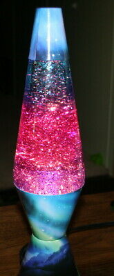 "Colormax Lava Lamp 14.5"" Tall Northern Lights Look Multi-Color Effect"