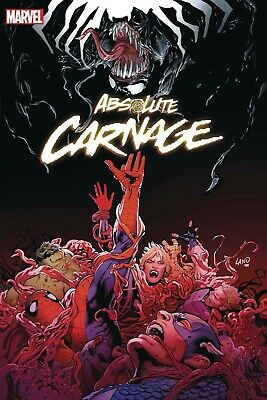 ABSOLUTE CARNAGE #1, 2, 3, 4  (OF 5) | MARVEL COMICS | Cates, Artgerm, Lim,