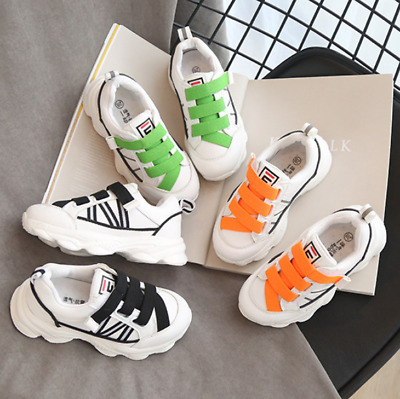 Kids Running Trainers Boys Girls Comfort Sports Althletic Shoes Mesh Sneakers