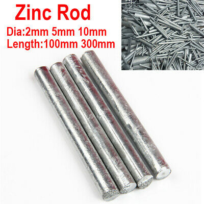 Element Dia Pure Metal 6 x 100mm Round Bar Anodes for Brush Electroplating