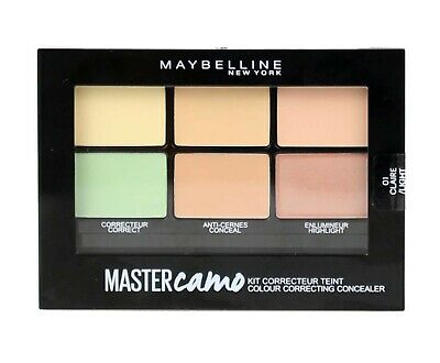 MAYBELLINE 6.5g MASTER CAMO COLOUR CORRECTING CONCEALER 01 CLAIR/LIGHT