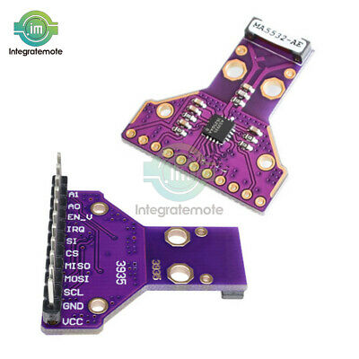 AS3935 I2C SPI Lightning Strike Storm Distances Detector Sensor Breakout HFT