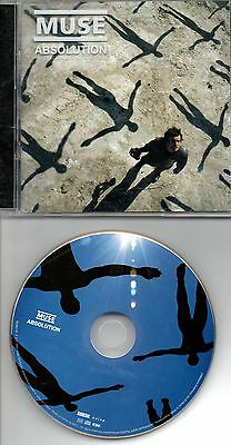 Muse Absolution Rare French Cd+ Dvd