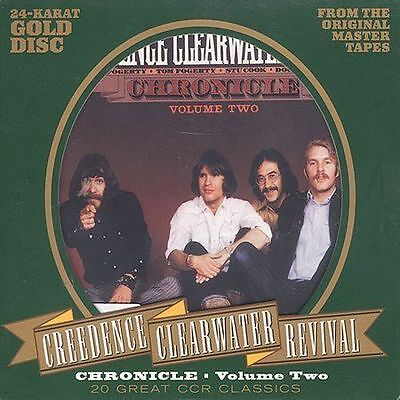 Chronicle, Vol. 2 by Creedence Clearwater Revival (CD, Aug-1995, Fantasy)