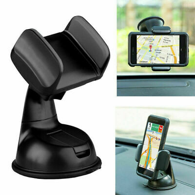 Mobile Phone Holder Universal Mount Car Windscreen Dashboard Desktop Home Office