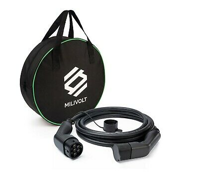 Type 2-Type 2 EV Electric Vehicle Charging Cable   1 Phase   7.2kW   5meter +Bag