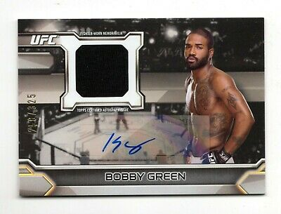 Bobby Green2016 Topps Ufc Knockout Autographed Relics #/325