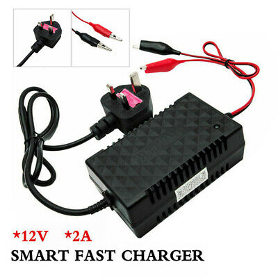 Intelligent Smart 12V Motorcycle Motorbike Battery Charger Automatic Trickle Toy