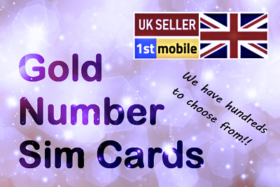 07494 888 006 - Gold VIP Mobile number sim card. Easy transfer to any network
