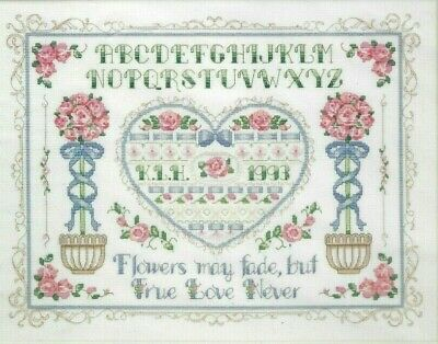 Embroidery Kit ~ Dimensions Floral Young at Heart Saying #71-06241 OOP SALE!