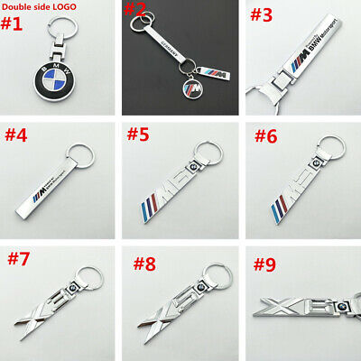 For BMW 1 3 5 6 7 X Series M3 M6 X5 X3 X6 Metal Car logo Key chain Key Ring Xmas