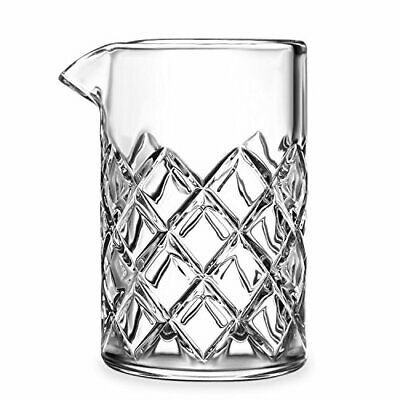 Cocktail Mixing Glass - Bar Mixing Pitcher for Stirring Drinks - 17-ounce,2