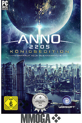 ANNO 2205 - Königsedition - Ultimate Edition - PC Code - UPLAY Ubisoft Key DE/EU
