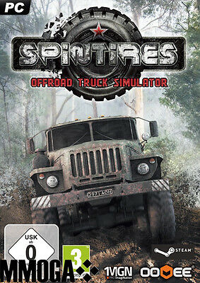 Spintires: Offroad-Truck-Simulator Key PC-Spiel STEAM Download Code [DE/EU][NEU]