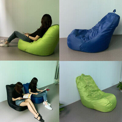 Large Bean Bag Chair In/Outdoor Gamer Beanbag Seat Adult & Kids Sizes Garden Arm
