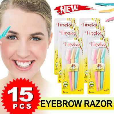 Facial Eyebrow Razor Trimmer Shaper Shaver Blade Knife Hair Remover Tinkle AU