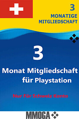 PlayStation Plus - PlayStation Network 90 Tage (3 Monate) PSN CODE [Sony] [CH]
