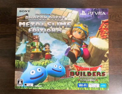 SONY PlayStation PS Vita PCH-2000 DRAGON QUEST METAL SLIME Limited Edition