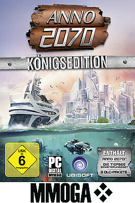 ANNO 2070 - Königsedition Key - NEU / PC / DE - Vollversion + Addons