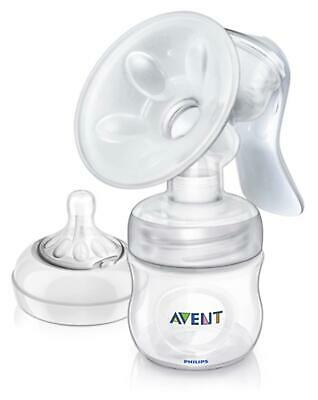 Avent COMFORT MANUAL BREAST PUMP WITH BOTTLE Baby Feeding BN