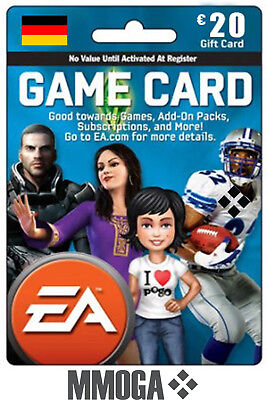 EA Game Card EUR 20€ - 20 EURO EA Origin Store Guthaben Key f. Deutschland - DE