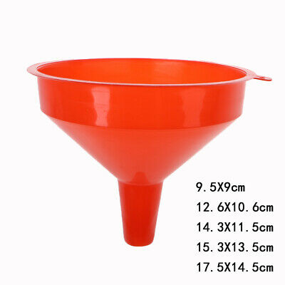 Plastic Filling Funnel Spout Pour Oil Tool Petrol Diesel Car Styling For Car e
