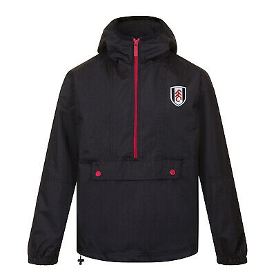 Fulham FC Official Football Gift Mens Shower Jacket Windbreaker