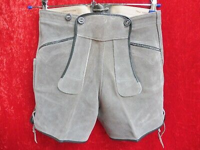 High Quality Leather Pants, Size 158, Made in Germany, Shorts