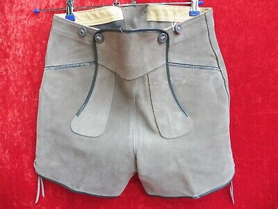 High Quality Leather Pants, Size 44, Made in Germany, Shorts, Ladies, O. Men's