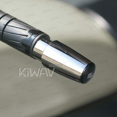 Super heavy bar end weight stainless steel longer chrome M6 for Yamaha FZS600