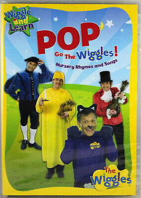 The Wiggles Pop Goes The Wiggles NEW DVD Wiggle and Learn Nursery Rhymes Songs