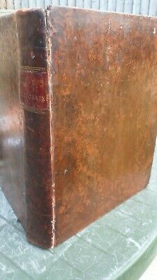Antique dictionary 1802 John Walker pronouncing dictionary Full leather bound