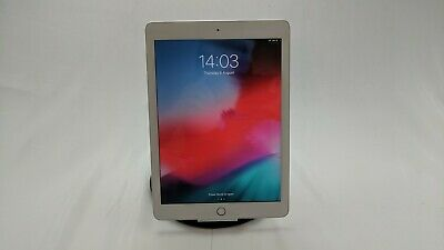 "Apple iPad 6th Gen 9.7"" 128GB Silver WiFi Only Fully Working"
