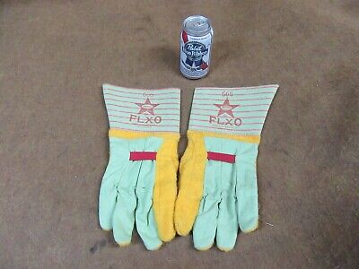Vtg Boss,666-FLXO Ironworkers Gloves,1980's,made USA~NOS,NEW 😎😎😎  #IW7.31.19