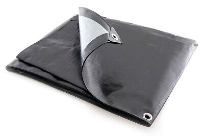 Tarpaulin Extra Heavy Duty  Waterproof Cover Tarp  270GSM Ground Sheet With Rope