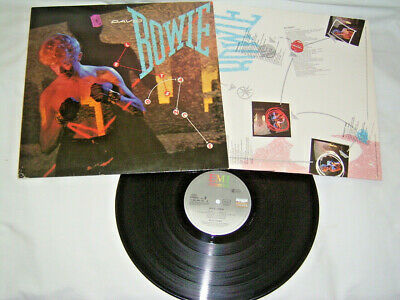 LP - David Bowie Let´s Dance - 1983 OIS China Girl # cleaned