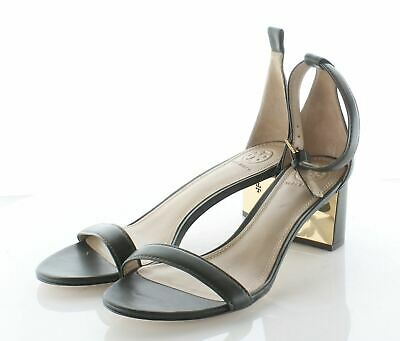 5121d8cf387 09-16 NEW TORY Burch Cecile Leather Ankle Strap Sandal Women's Sz 8 M