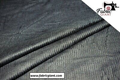 "100/% Cotton Corduroy Fabric Sold Per Metre 6 Colours 57/"" Wide Clothing KBT5535"