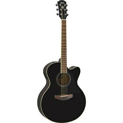 Yamaha CPX600 Acoustic-Electric Guitar - Black