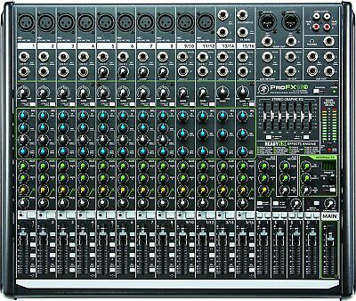 Mackie ProFX16v2 16-Channel Professional Effects Mixer with USB