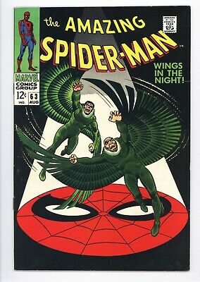 Amazing Spider-Man #63 Vol 1 Very Nice Higher Grade Vulture Appearance