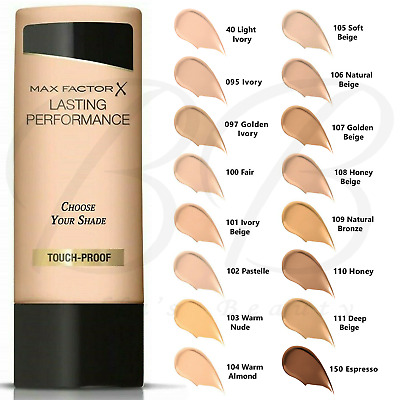 MAX FACTOR Lasting Performance Touch-Proof Liquid Foundation 35ml *CHOOSE SHADE*