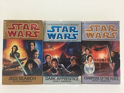 Star Wars The Jedi Academy Trilogy by Kevin J. Anderson