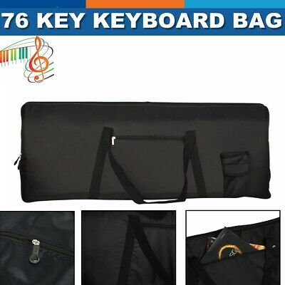 Portable 76-Key Keyboard Electric Piano Padded Case Gig Bag For YAMAHA CASIO