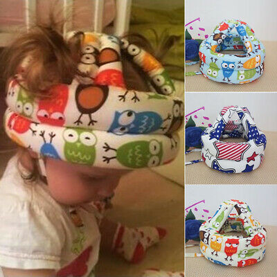 Anti Collision Headguard Harness Cap Adjustable Toddler Baby Safety Helmet Crawl