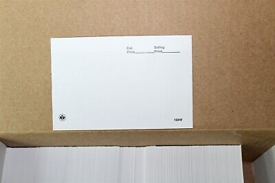 "CKStamps :104 Dealer Cards - White (Box of 1000),Dimensions: 5"" (W) x 3 1/4"" (H)"