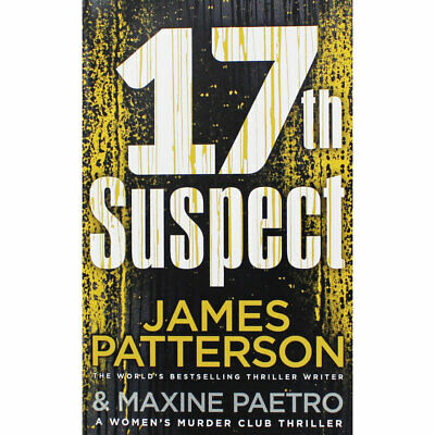 17th Suspect by James Patterson (Paperback), Fiction Books, Brand New