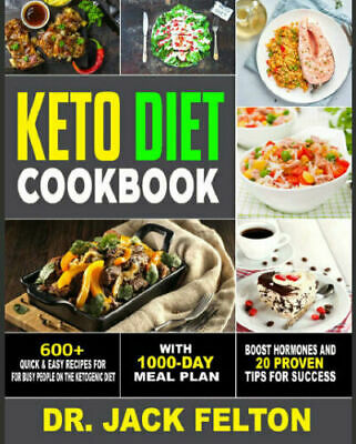 Keto Diet Cookbook – 600+ Quick & Easy Recipes For B PDF/Eb00k Fast Delivery